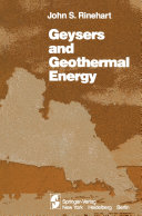 Geysers and Geothermal Energy