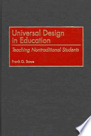 Universal Design in Education