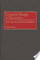 Universal Design In Education Book PDF