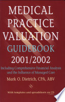 Medical Practice Valuation Guidebook 2001 2002
