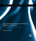 Transitional Justice and Human Rights in Morocco