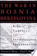 The War In Bosnia Herzegovina