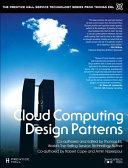 Cloud Computing Design Patterns  paperback