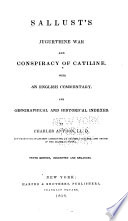 Sallust S Jugurthine War And Conspiracy Of Catiline
