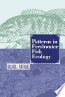 Patterns in Freshwater Fish Ecology Book