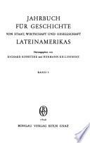Anuario de historia del estado, la economía y la sociedad en América Latina