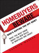 Homebuyers Beware