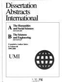 Dissertation Abstracts International: The sciences and ...