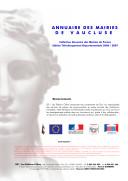 Pdf Annuaire des Mairies de Vaucluse (84) Telecharger