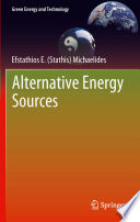 Alternative Energy Sources Book