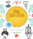 Draw  Color  and Sticker Enchanted Sketchbook