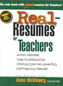 Real-resumes for Teachers