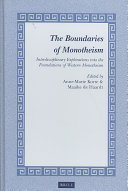 The Boundaries of Monotheism