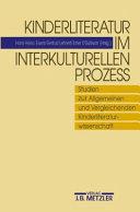 Kinderliteratur Im Interkulturellen Prozess