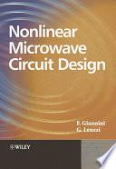 Nonlinear Microwave Circuit Design