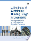 A Handbook Of Sustainable Building Design And Engineering Book PDF