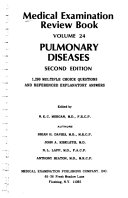 Medical Examination Review Book  Pulmonary diseases