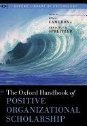 The Oxford Handbook of Positive Organizational Scholarship Pdf/ePub eBook
