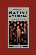 Handbook of Native American Literature ebook
