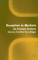 Deception In Markets Book PDF