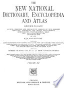 The New National Dictionary  Encyclop  dia and Atlas Revised to Date     Book