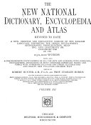 The New National Dictionary Encyclop Dia And Atlas Revised To Date  Book PDF