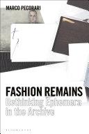 Fashion Remains Pdf/ePub eBook