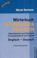 Wörterbuch technisches Englisch