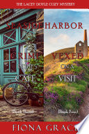 A Lacey Doyle Cozy Mystery Bundle  Crime in the Caf     3  and Vexed on a Visit   4