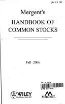 Mergent s Handbook of Common Stocks Fall 2006