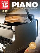 First 15 Lessons - Piano Pdf/ePub eBook