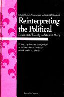 Reinterpreting the Political Pdf/ePub eBook
