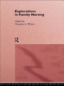 Explorations in Family Nursing