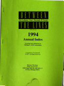 Between the Lines     Annual Index