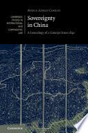 Sovereignty in China