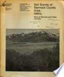 Soil Survey Of Bannock County Area Idaho
