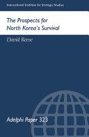 The Prospects for North Korea Survival Pdf/ePub eBook
