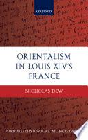 Orientalism in Louis XIV's France