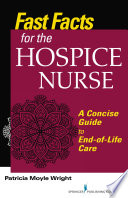 Fast Facts For The Hospice Nurse Book PDF
