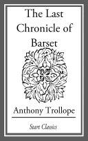 The Last Chronicle of Barset Pdf