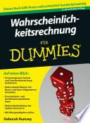 Wahrscheinlichkeitsrechnung für Dummies