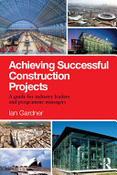 Achieving Successful Construction Projects Pdf/ePub eBook