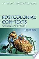 Postcolonial Con Texts