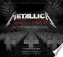 Metallica  Back to the Front Book PDF