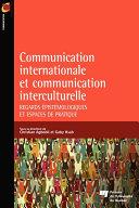 Pdf Communication internationale et communication interculturelle Telecharger