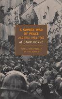 A Savage War of Peace Book