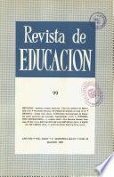 Revista de educación nº 99