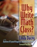 Why Write In Math Class