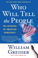Who Will Tell The People [Pdf/ePub] eBook