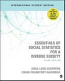 Cover of Essentials of Social Statistics for a Diverse Society